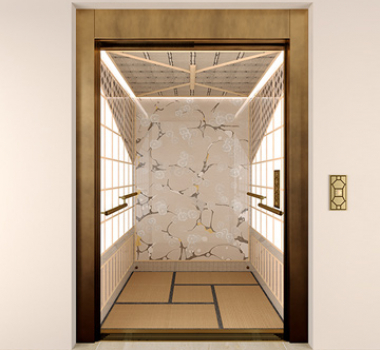 Tatami Lift, the charm of the East