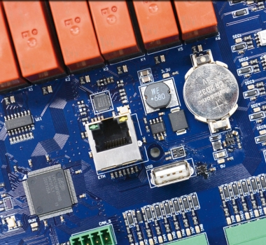 Eagle: serial control panel